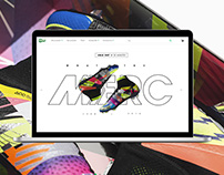 Nike What The Mercurial Microsite