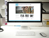 Knose Everyday Pet Care: web design