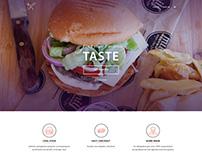 Milf Grill Web Design