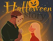 "Comics ""Halloween story"""