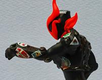 KAZIDA 12cm(Defensive hero / 防衛戦士 カジダー )