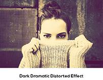 Dark Dramatic Distorted Effect