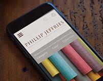 Phillip Jeffries - Site Design
