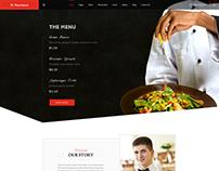 Nutriment - Restaurant / Cafe / Food Bootstrap PSD