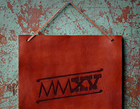 Hand-Tooled Leather 2015 (MMXV) Stampede Poster