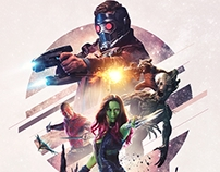 Guardians of the Galaxy alternative movie poster