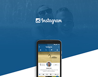 Instagram | Mobile app redesign concept