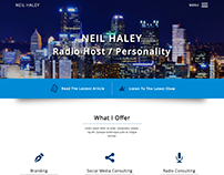 Neil Haley Website Design