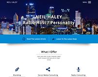 Neil Haley Website Design