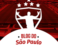 Short test using Adobe XD - Blog do São Paulo