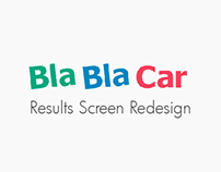 Bla Bla Car: Results Screen Redesign