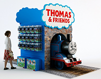 Thomas & Friends - Toy display