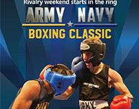 Army Navy Boxing Poster