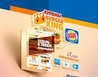 BURGER KING® App Sticker Concept