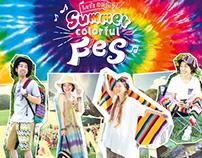 【Webデザイン】Summer Colorful Fes フェス特集ページ