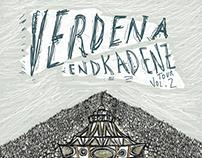 Poster Endkadenz Tour Vol.2 - Verdena