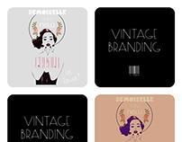 Vintage Branding: Demoiselle