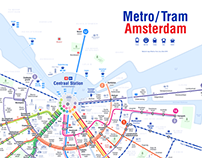 Metro/Tram Amsterdam 2018
