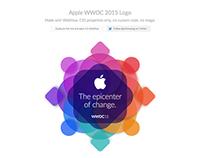 CSS Apple WWDC Logo