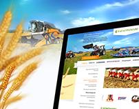 Татагромаш — сайт для поставщика сельхозтехники