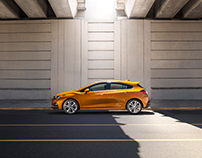 2017 Chevy Cruze Retouching