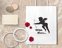 Cupid silhouette (freebie)