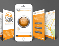 UI / UX - Safe Security APP