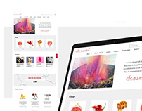 Sensual Revolution Branding and UI/UX