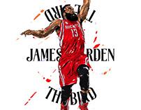 Adobe DRAW : NBA series - James Harden