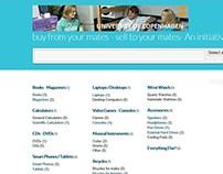 Concept Classifieds Website