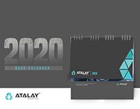 ATALAY ENDÜSTRİYEL MOBILE DESK CALENDER 2020
