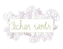 échos verts / branding