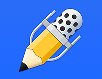Notability App Icon - Evolution