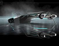Sci Fi SPACE TRANPORTER