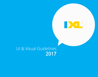 IXL Brand guidelines 2017 (partial)