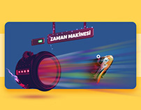 Toy Museum Istanbul / UI Design - Animation