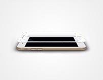 iPhone screen glasses - Confetti model