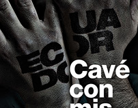 """Poster """"ECUADOR"""" / Ecuador Poster Bienal - 2016"""