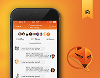 FoxChat App Design