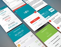 Finance App UI for iPhone