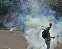 Manifestación al CNE, Caracas 24 de mayo