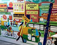Viacom 18 : Wall Murals