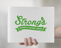 Strong's Nursery & Garden Center Brand Book
