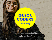 Quick Coders: academy - Strategy and communication