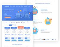 Hostbro hosting website design