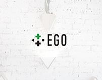 EGO bio store   visual identity