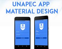 UNAPEC App Material Design