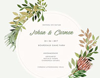 Carmen & Johan Wedding