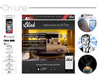 Blink On Line & Off Line Material