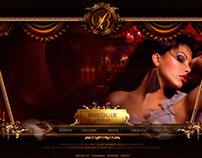 MyBoudior, website for a french themed bar in Dubai